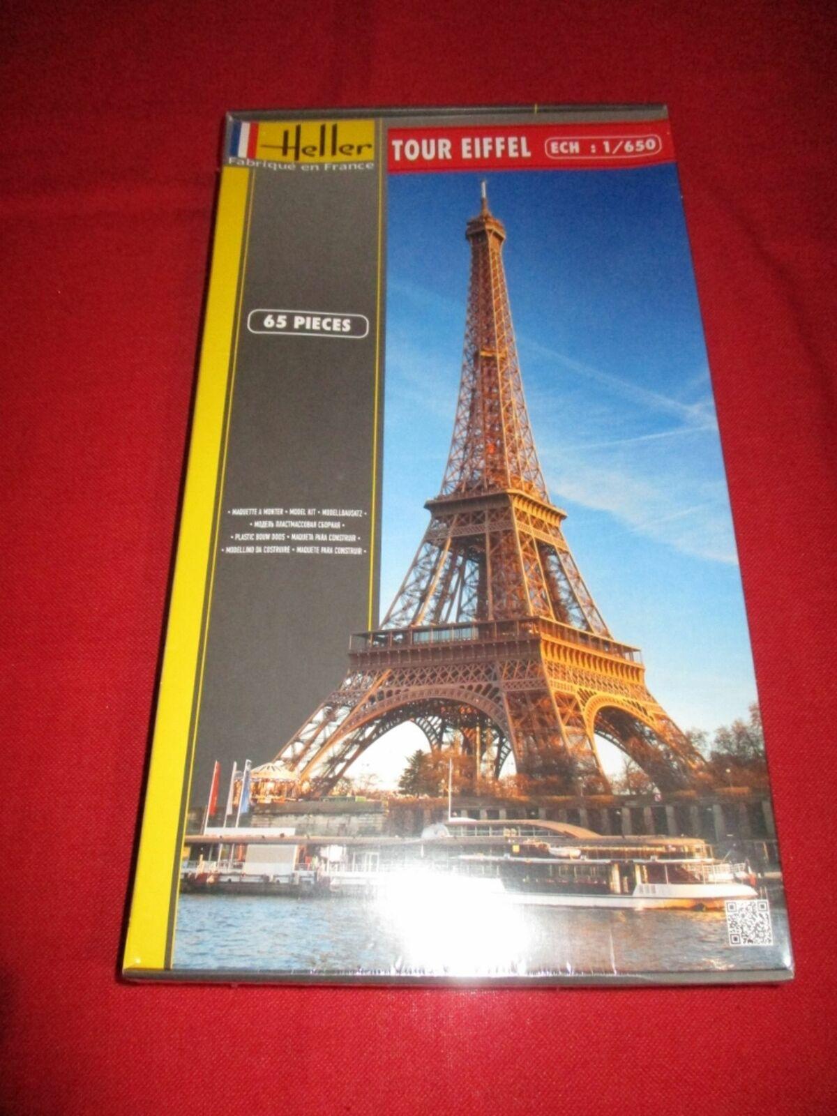 Eiffelturm Paris Modellbausatz Tour Eiffel 1:650 Model Kit Bausatz Heller 81201