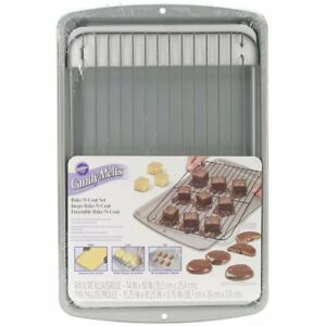 Wilton Bake-N-Coat Set Candy Melts Icing Ganache Chocolate Decorating Sugarcraft