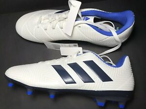 a61a2327e adidas nemeziz 18.4 Fg Women Whithe Ink / Black/ Blue Size 6.5   eBay