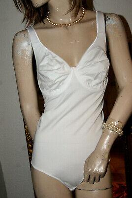 Schmiegsamer Fiori Bianco Body * Miederbody Formbody Nw Tg. 85 D-mostra Il Titolo Originale Elaborato Finemente