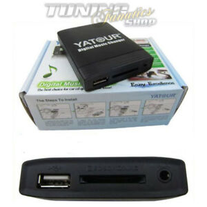 USB-SD-MP3-In-CD-Wechsler-Adapter-fuer-BMW-Motorrad-K1200LT-Radio-Becker-Business