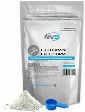 NVS 100% PURE L-GLUTAMINE POWDER FREE FORM KOSHER PHARMACEUTICAL GRADE USA