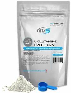 NVS-100-PURE-L-GLUTAMINE-POWDER-FREE-FORM-KOSHER-PHARMACEUTICAL-GRADE-USA