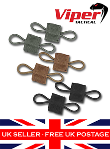 Viper Molle Bungee Retainers Military Army Police Airsoft Security 4 Pack UK