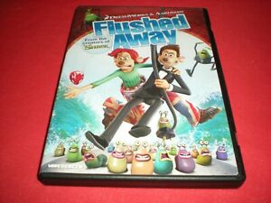 Flushed Away (DVD, 2007, Widescreen Sensormatic) | eBay