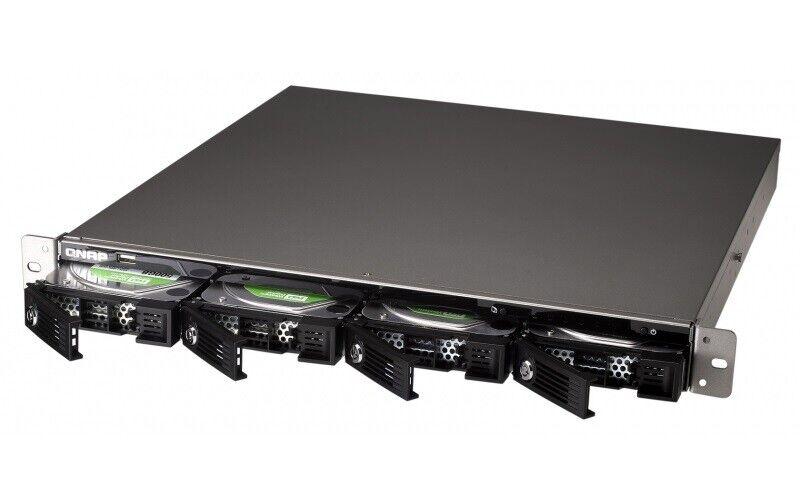 QNAP TS410U 4-bay incl. 8Tb lager