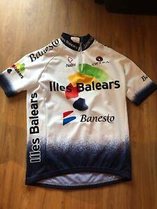 Nalini-Cycling-Jersey-Banesto-Illes-Balears-Mens-Size-2
