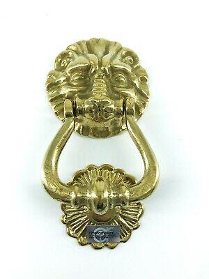 Grande batacchio per porte e portoni in bronzo massiccio stile imperiale fissagg