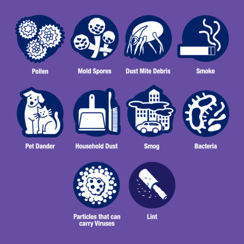1500 Air-Filter Filtrete M3 Purple Furnace Virus Pet Dust 2,4,6,8 Ultra-Allergen