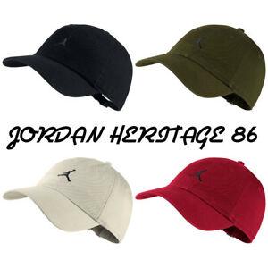 5349e8f6760 JORDAN HERITAGE 86 JUMPMAN FLOPPY DAD HAT *AR2117* ASST. COLORS *NEW ...