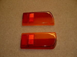 Jaguar-E-Type-Series-2-3-Lucas-UK-spec-Rear-Lamp-Lenses-Pair-NEW
