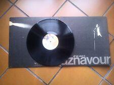 """LP 12"""" CHARLES AZNAVOUR DEL MIO AMARE TE GATEFOLD + INSERTO CARTA TRANSLUCIDA EX"""