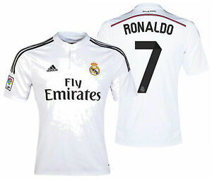 8b65869186d Image is loading ADIDAS-CRISTIANO-RONALDO-REAL-MADRID-HOME-JERSEY-2014-
