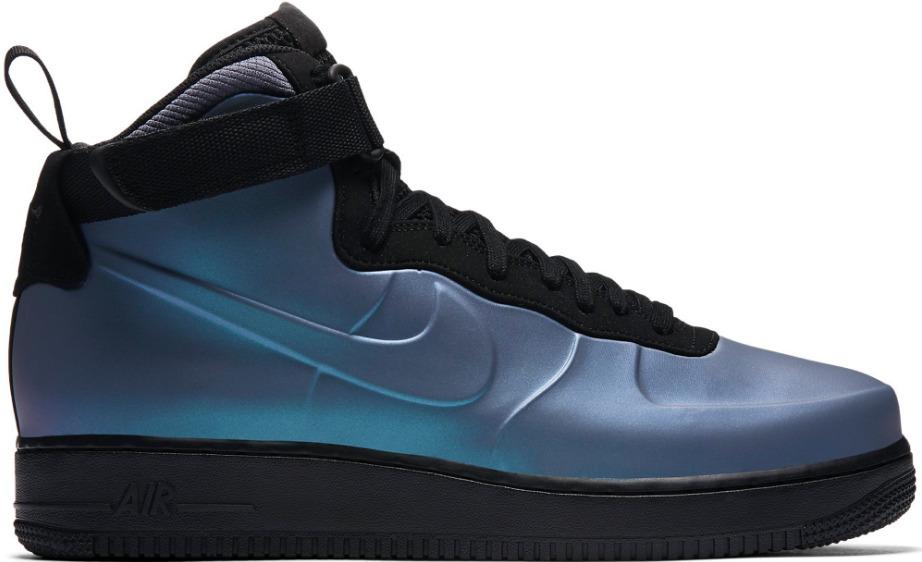 Nueva ah6771 002 Hombres Nike Copa Air Force 1 Foamposite Copa Nike carbono alto azul luz de espuma fe39dc