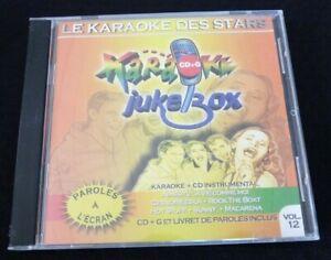 CD-G-Le-Karaoke-des-Stars-Karaoke-Jukebox-Vol-12-6-Songs