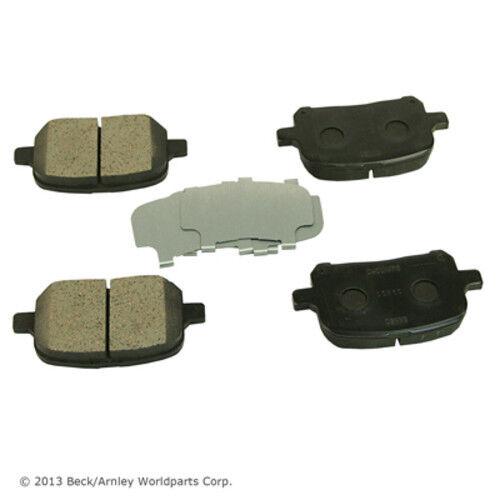 Disc Brake Pad Set Front Beck//Arnley 089-1538
