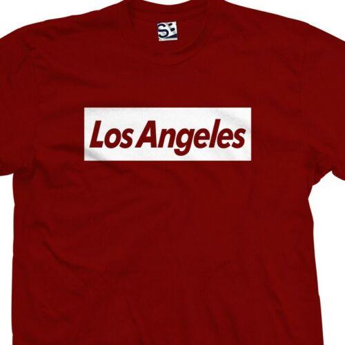 LA Trendy Supreme Parody All Sizes /& Colors L.A Los Angeles Subvert T-Shirt