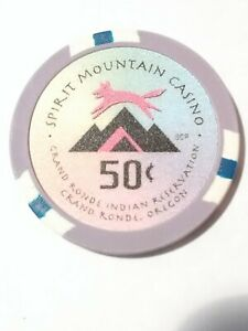 1.00 Chip from the Spirit Mountain Casino Grand Ronde Oregon