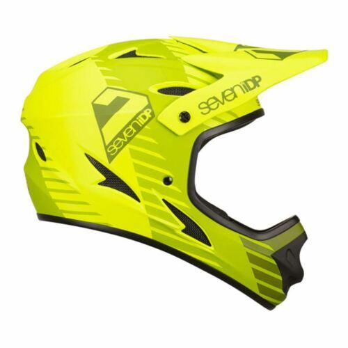 7IDP M1 FULL FACE MTB Down Hill Cycle Casco 2019-TATTICA Lime Verde Oliva