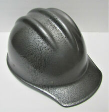 Nice Original E D Bullard Hammered Gray 502 Fiberglass Hard Boiled Hard Hat