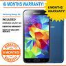 SAMSUNG GALAXY S 5 SM-G900F S5 - 16GB 4G ELECTRIC BLUE UNLOCKED