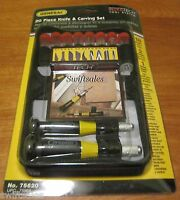 General Tools 75620 - Ultra Tech 20 Piece Hobby Knife & Carving Set - Sealed