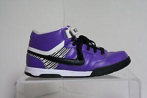 fluido Hostil Coordinar  Nike ID Air Mogan 6.0 Mid Sneakers 09' Athletic Hipster Purple Multi Men's  7 | eBay