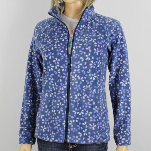 "New Columbia Girls /""Benton Springs/"" Full Zip Printed Fleece Jacket Sweaters"