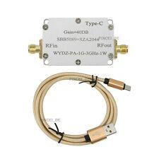 1g 3ghz Microwave Power Amplifier Rf Power Amplifier 40db Wydz Pa 1g 3ghz 1w
