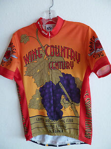 05279af13 Voler Team Apparel Cycling Biking Jersey Wine Country Sonoma Grover ...