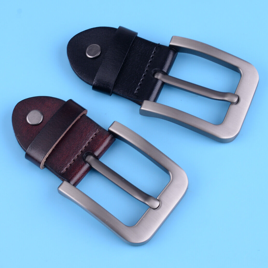 1Pcs Fashion Classic Alloy Men's Belt Buckle Pin fit for Wide 1.5