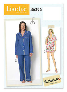 Butterick SEWING Pattern 4818 Misses Loose Top Shorts Pants 6-22 UNCUT Easy NEW