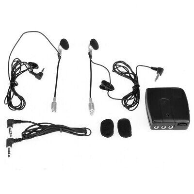 2pcs V6-1200 Motorcycle Helmet Intercom 6 Riders Interphone Headsets Auto V8R4