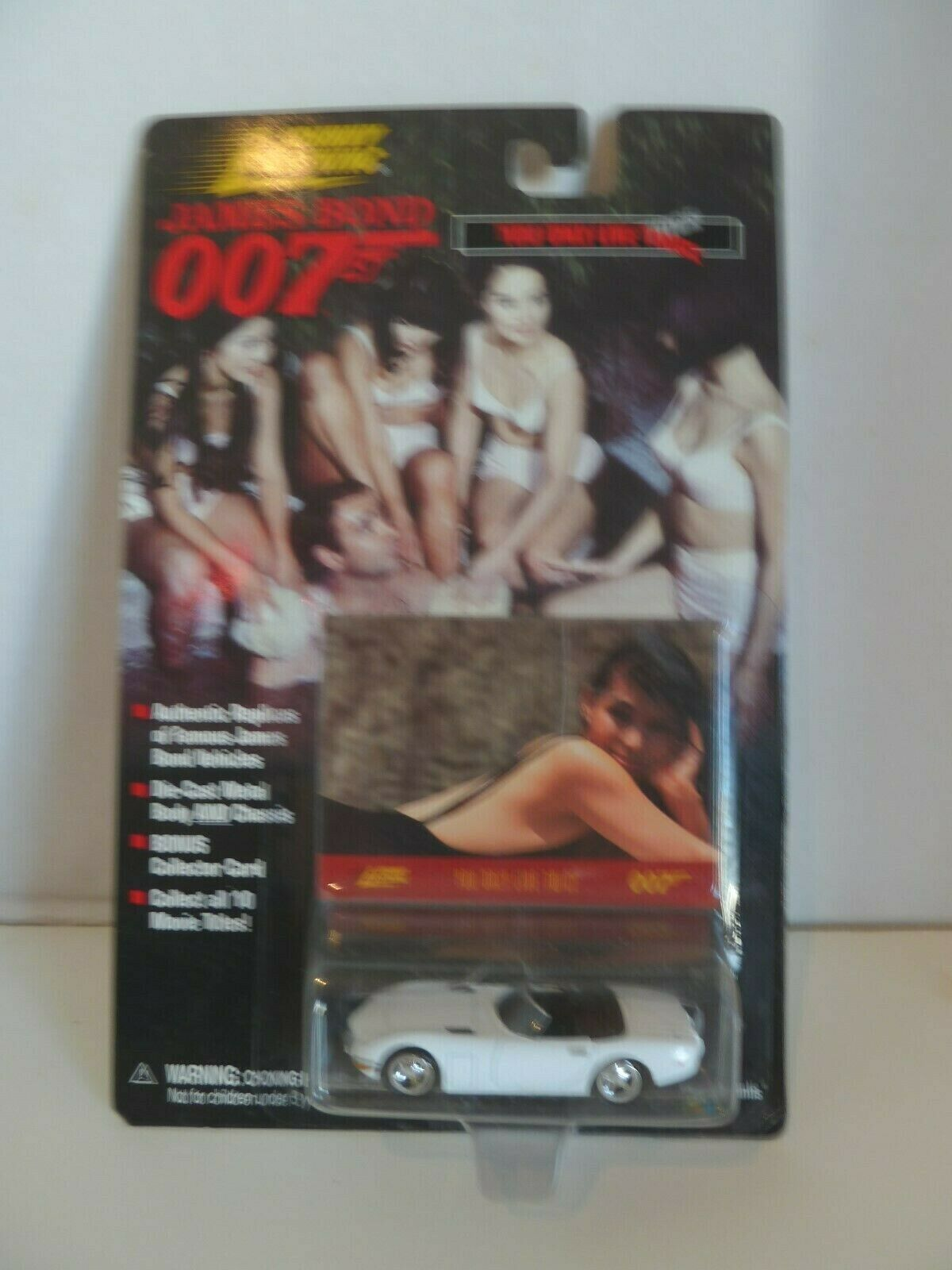 Johnny Lightning James Bond 007 LOT of 10