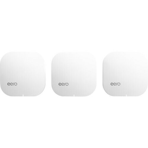 Brand New eero Pro Mesh Wi-Fi Router System (3-Pack) 2nd Generation - White. Buy it now for 249.99