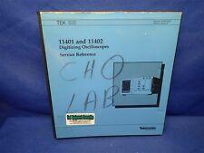 Tektronix 11401 Amp 11402 Digitizing Oscilloscopes Service Reference