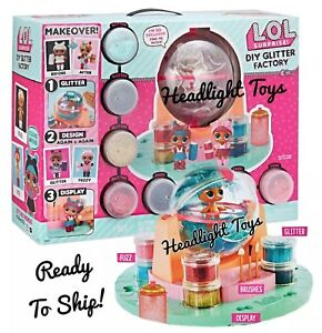 Details About 1 Lol Surprise Diy Glitter Factory Doll Pet Series 5 6 Makeover Babe Sparkle Nib