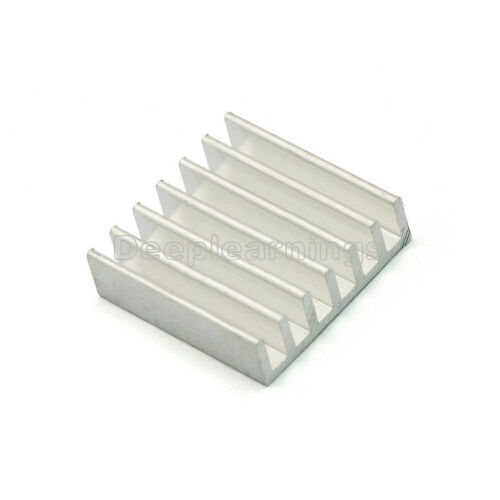 5 PCS 20*20*6mm High Quality Aluminum Heat Sink for LED Power Memory Chip IC NEW