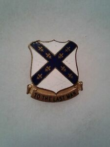 Authentic-WWII-US-Army-103rd-Infantry-Regiment-Unit-DI-DUI-Crest-Insignia-NH