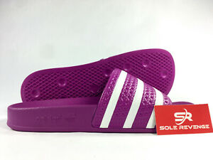 a2f22b3ce933 Image is loading New-WOMENS-Adidas-ADILETTE-Slides-Sandals-CG6539-Vivid-
