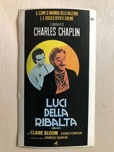PüNktlich Poster Plakat Sticker 1978 Charlie Chaplin Luci Della Ribalta Limelight Schnelle Farbe Film-fanartikel