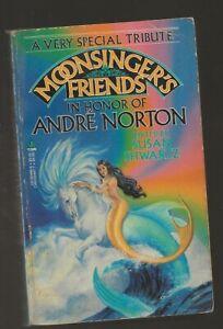 SUSAN SHWARTZ Moonsinger's Friends. ANDRE NORTON tribute SIGNED by Shwartz, Tarr