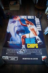 BLUE-CHIPS-4x6-ft-Bus-Shelter-D-S-Vintage-French-Movie-Poster-Original-1994