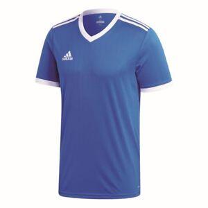 Adidas Mens Sports Football Soccer Short Sleeve Jersey Shirt Top V ...