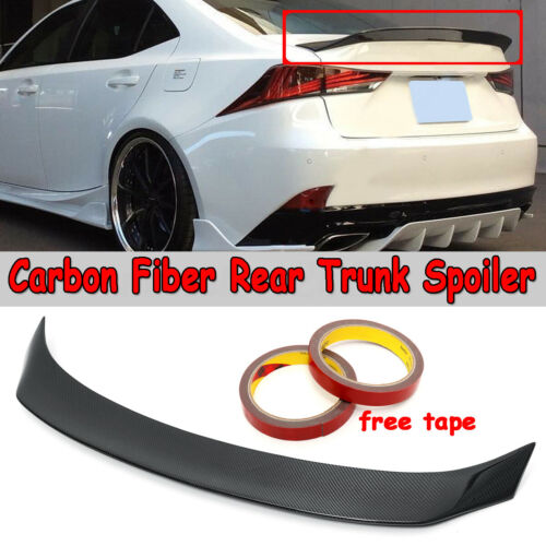 For 2014-2018 LEXUS IS200t IS250 IS350 AR Style Carbon Fiber Trunk Spoiler Wing