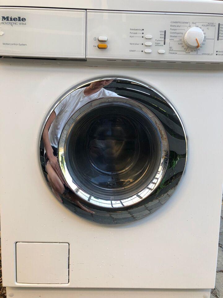Miele vaskemaskine, Novotronic, frontbetjent
