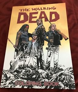 Details About The Walking Dead Coloring Book Brand New