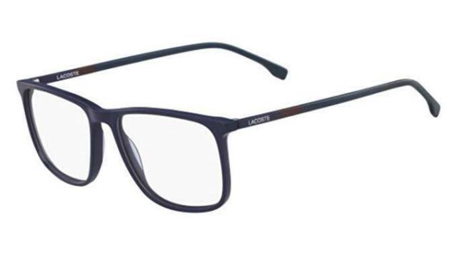 c6856e92b674 Lacoste L2807 424 Blue 55mm Eyeglasses RX 2807 for sale online