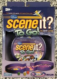 Disney-Scene-It-To-Go-Travel-DVD-Family-Trivia-Game-Optreve-NEW-amp-Sealed