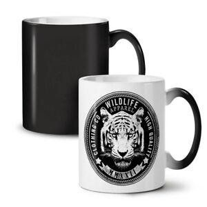 Wildlife Tiger Vintage NEW Colour Changing Tea Coffee Mug 11 oz   Wellcoda